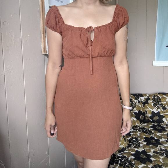 NWT Aeropostale brown dress